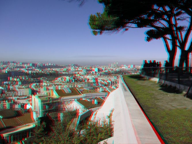 anaglyph cars Glasses nature wallpaper