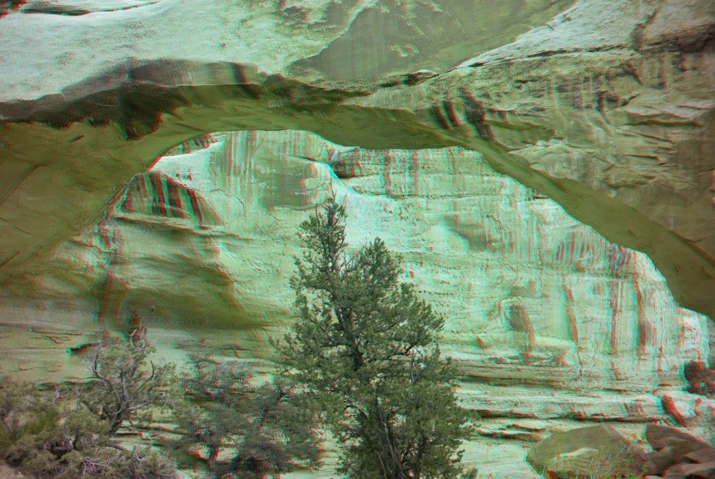 3D anaglyph cars Glasses nature wallpaper