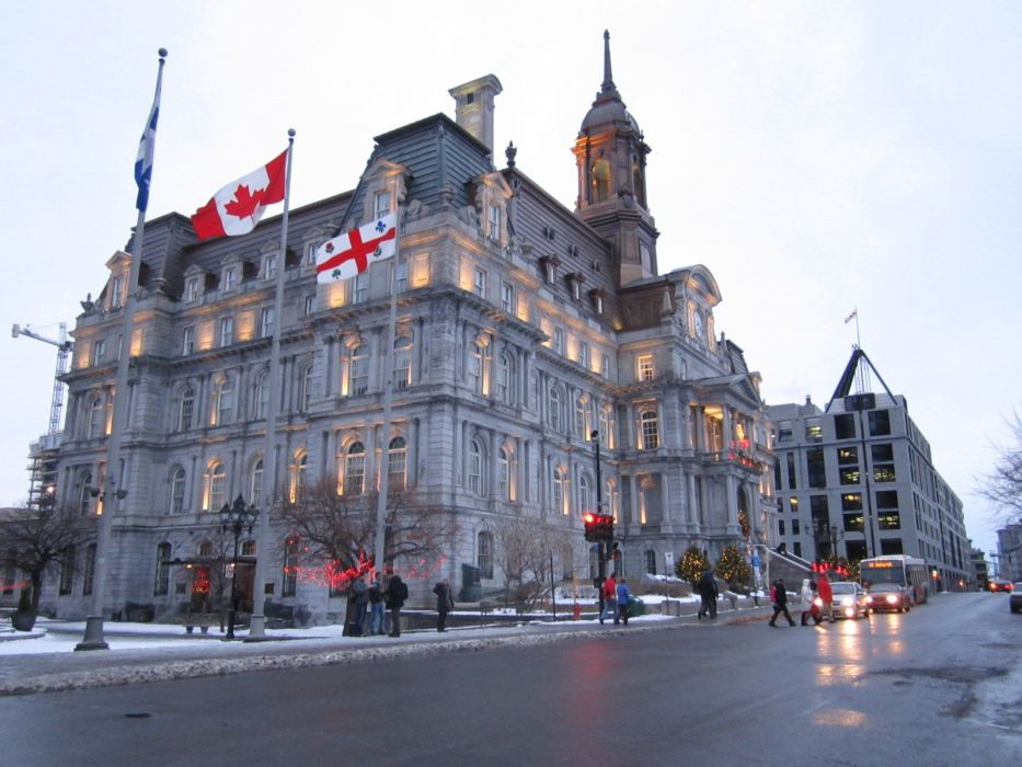 MONTREAL quebec canada building wallpaper