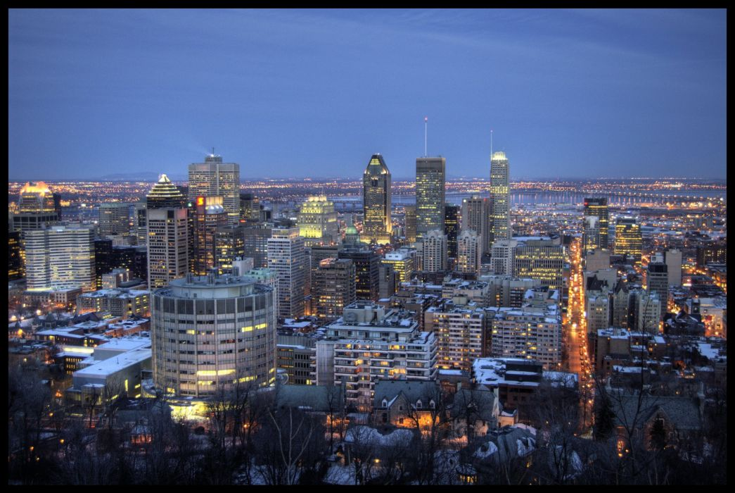 MONTREAL quebec canada building wallpaper