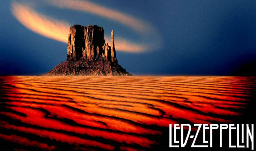 LED ZEPPELIN classic hard rock blues wallpaper