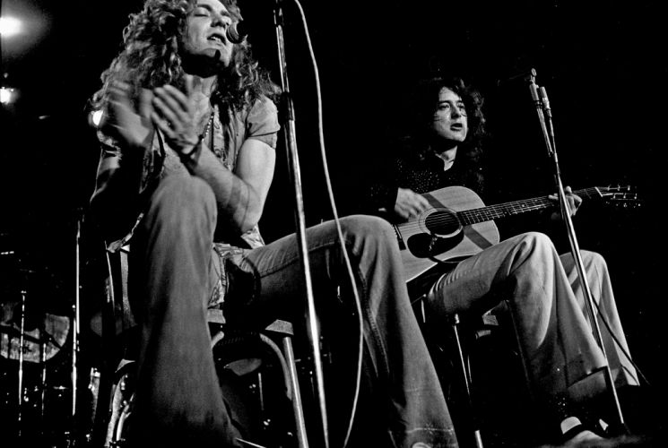LED ZEPPELIN classic hard rock blues wallpaper