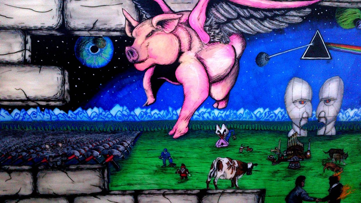 PINK FLOYD progressive rock psychedelic classic hard wallpaper