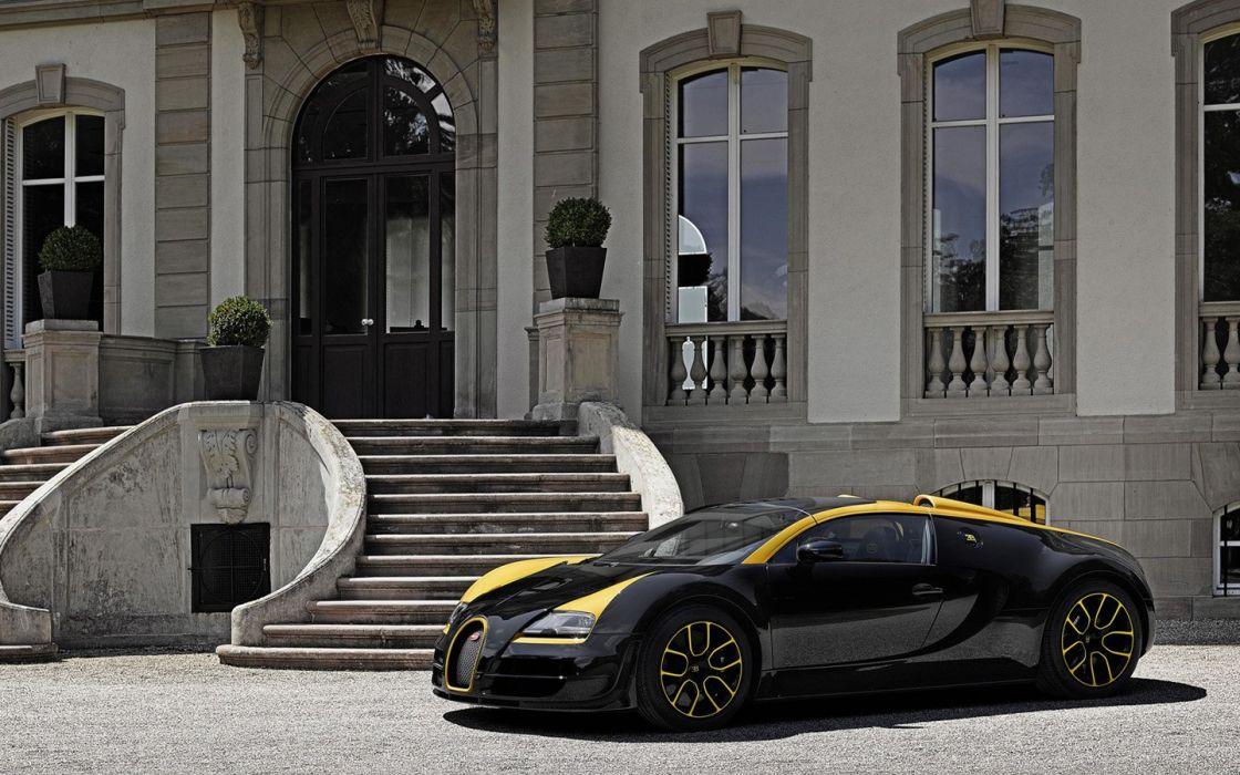 Bugatti Veyron Grand Sport Vitesse 1 of 1 supercars wallpaper