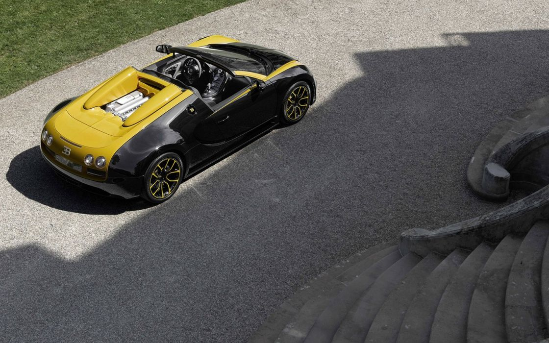 Bugatti Veyron Grand Sport Vitesse 1 of 1 supercars wallpaper