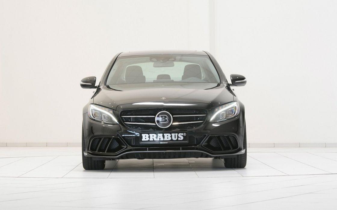 2014 Brabus Mercedes C-Class tuning wallpaper