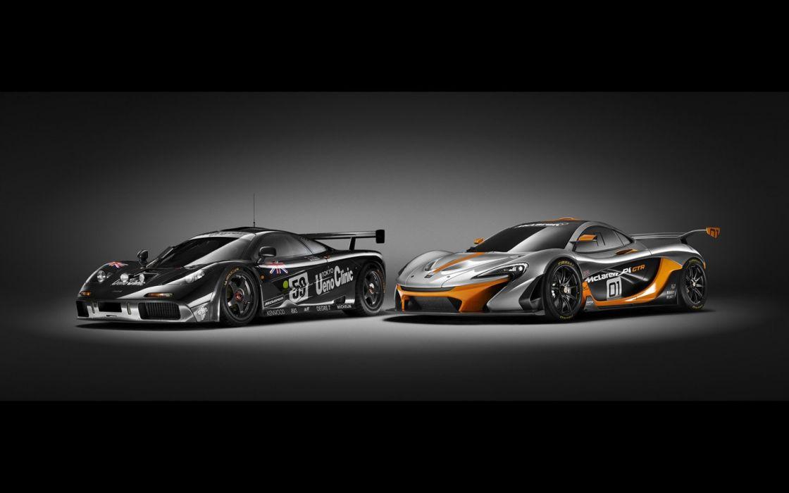 2014 McLaren P1 GTR Design Concept wallpaper