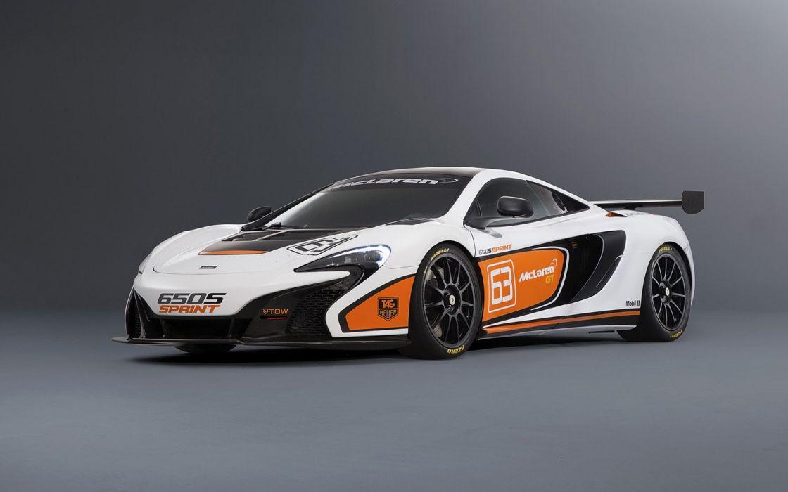 2015 McLaren 650S Sprint racecars wallpaper
