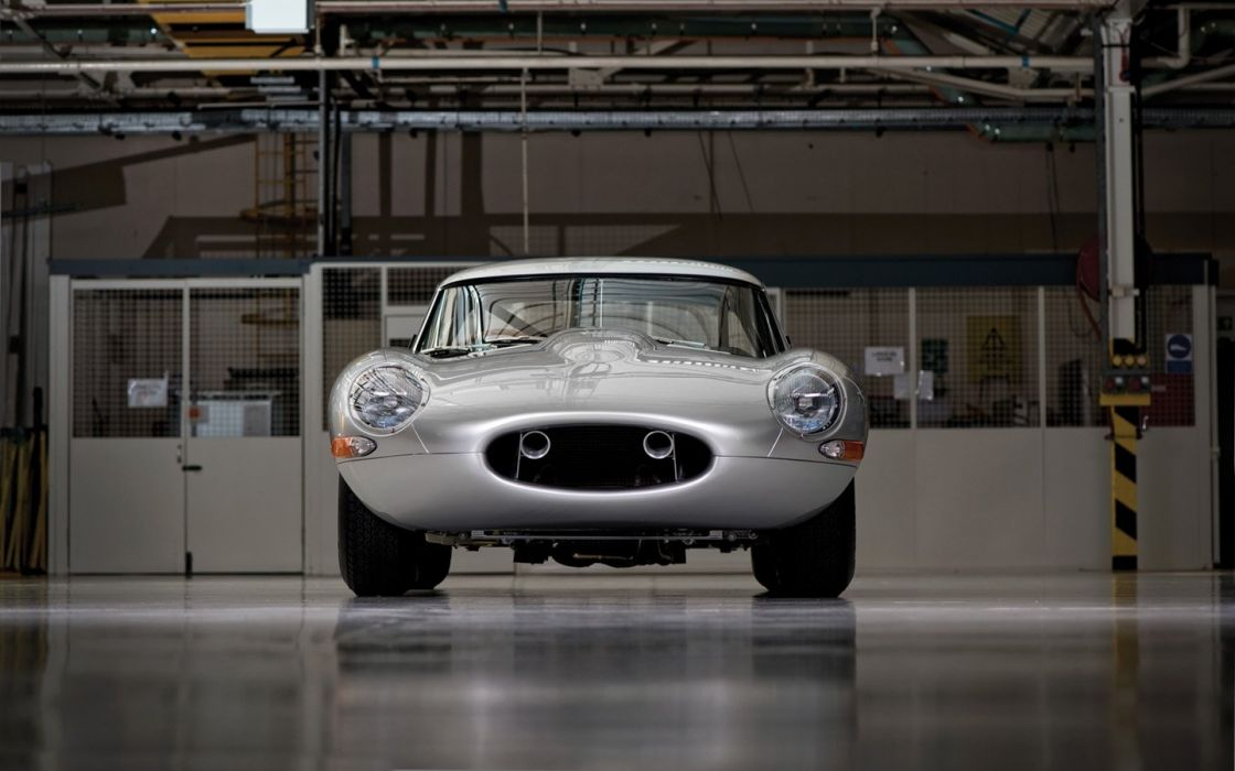 2014 Jaguar Lightweight E Type vintage cars wallpaper