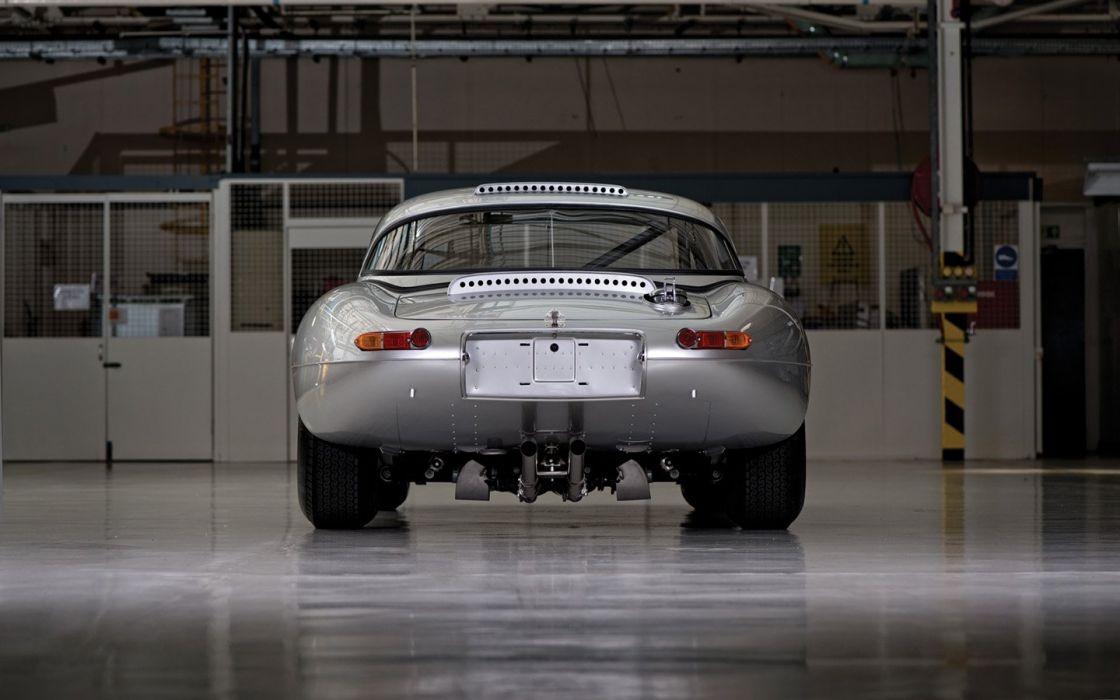 2014 Jaguar Lightweight E Type vintage cars wallpaper