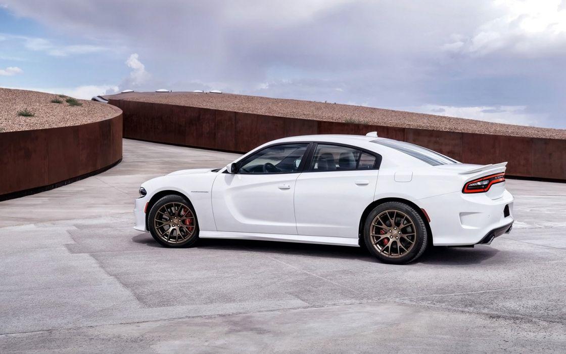 2015 Dodge Charger SRT Hellcat cars wallpaper
