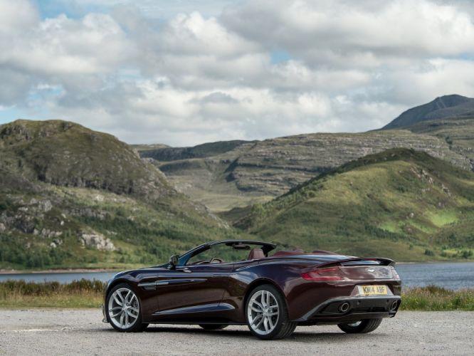 2015 Aston Martin vanquish volante convertible cabriolet wallpaper