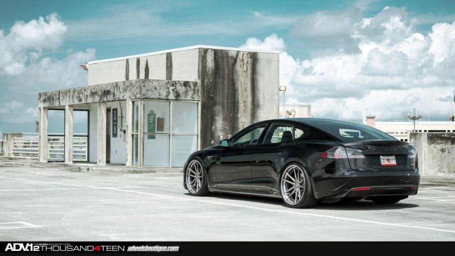ADV1 Supercar Tuning whells tesla model s wallpaper