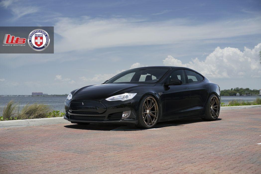 HRE model S Supercar tesla Tuning whells wallpaper