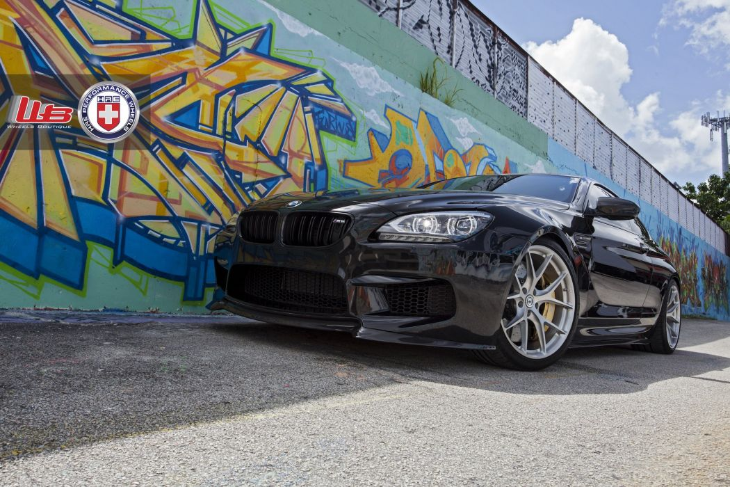 BMW m6 hre Supercar Tuning whells wallpaper