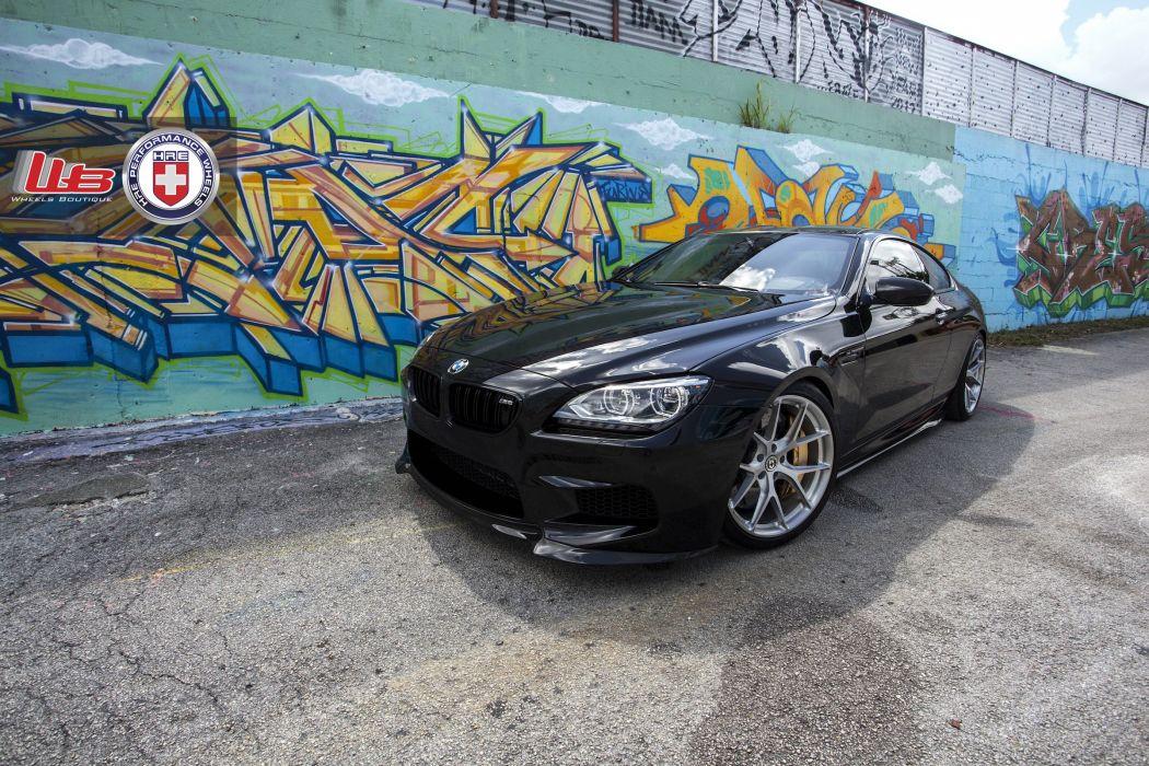 BMW m6 hre Supercar Tuning whells wallpaper