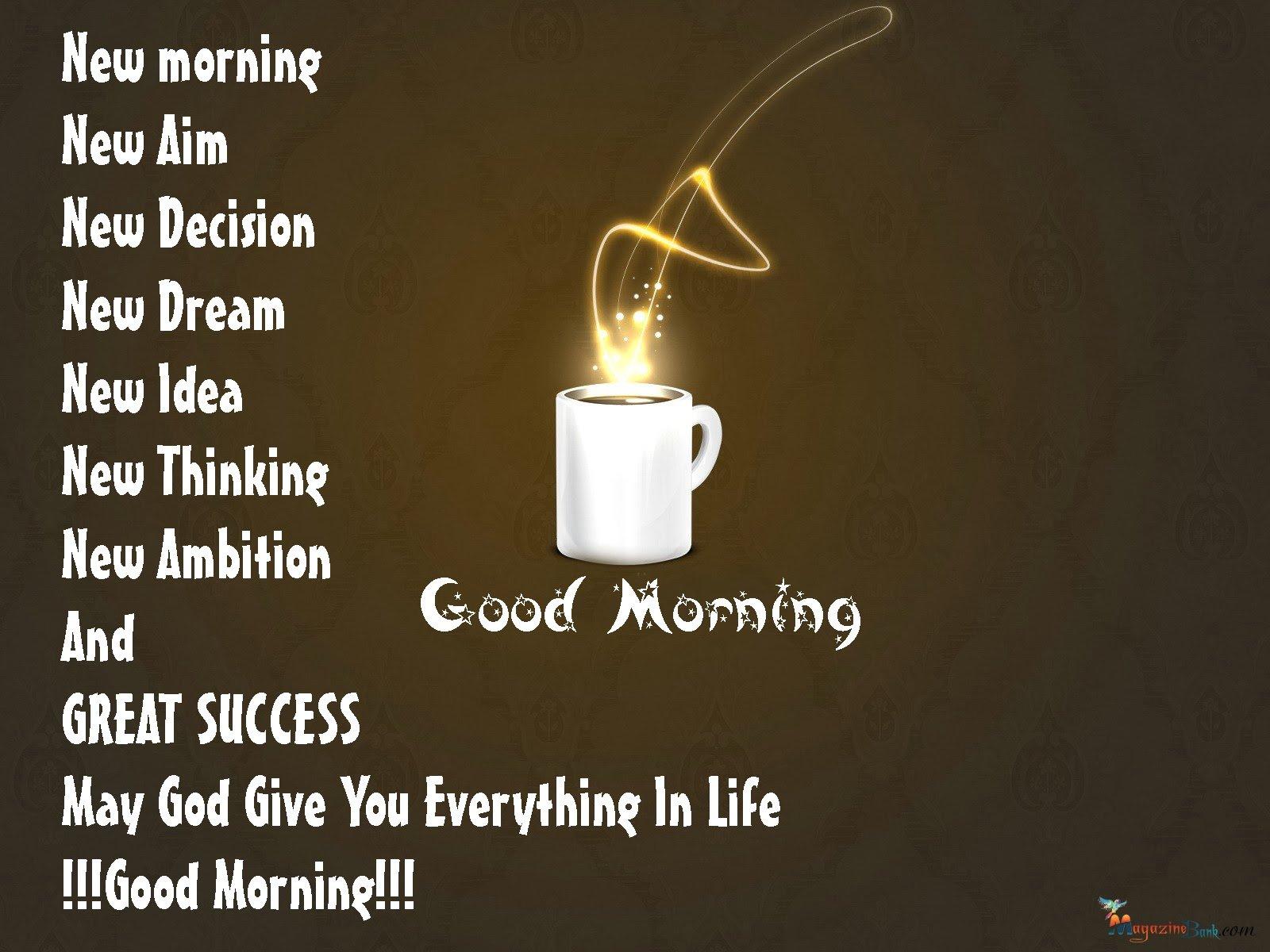 Good Morning Greetings Motivational Mood Wallpaper 1600x1200