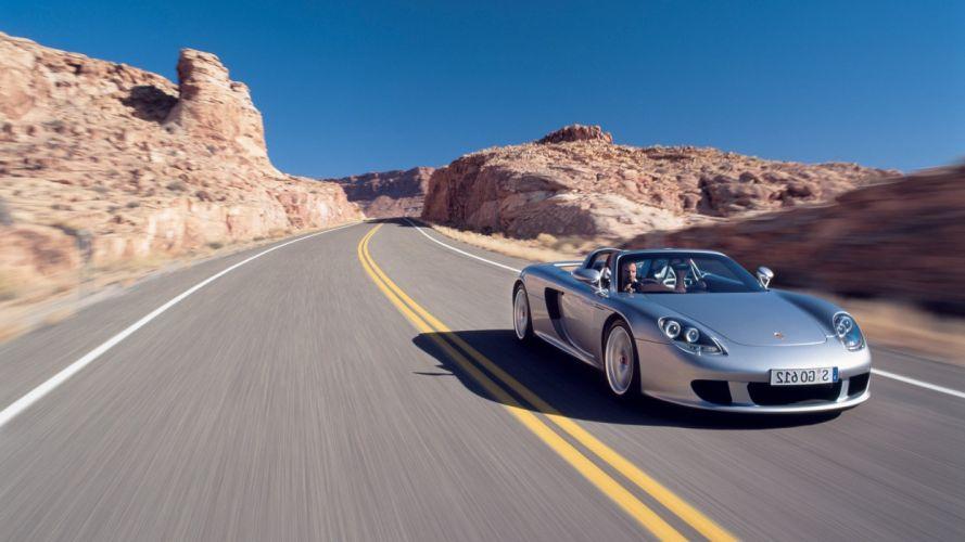 Porsche Carrera GT wallpaper