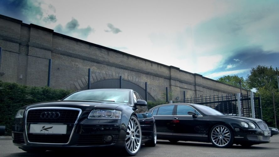 Audi and Bently wallpaper