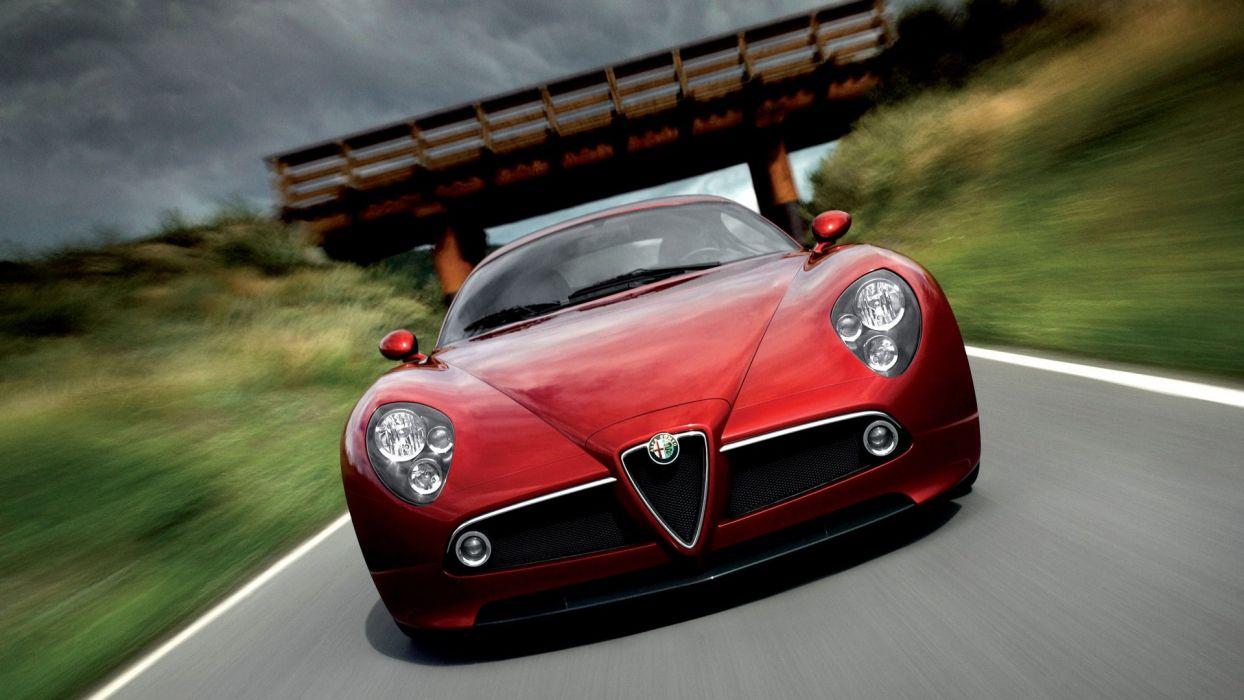 Alfa Romeo 8C wallpaper
