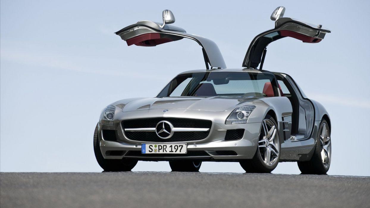 Mercedes Benz SLS 6 3 AMG wallpaper