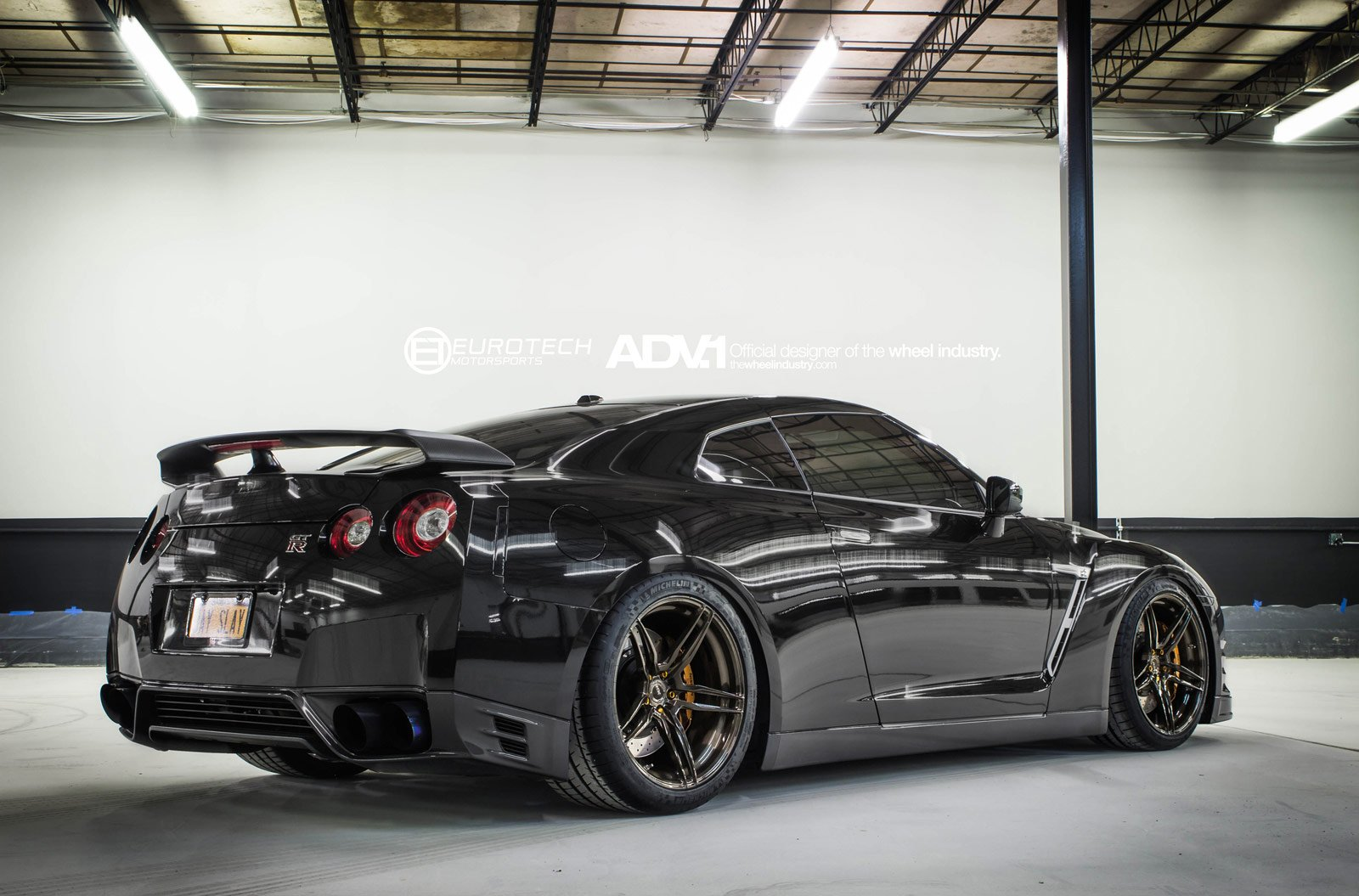 adv1 wheels nissan gtr black tuning wallpaper 1600x1055 426590 wallpaperup. Black Bedroom Furniture Sets. Home Design Ideas