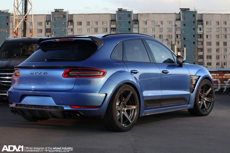ADV1 wheels porsche macan tuning wallpaper