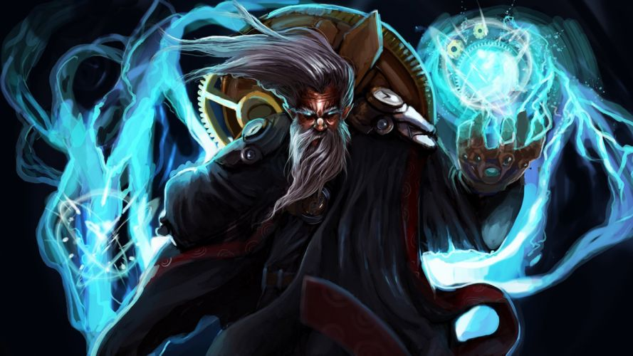 Zilean el maestro del tiempo - Legue of legends wallpaper