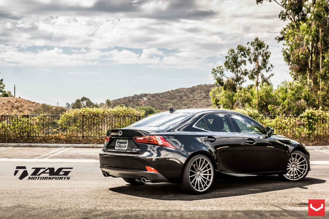 vossen wheels lexus is tuning black wallpaper