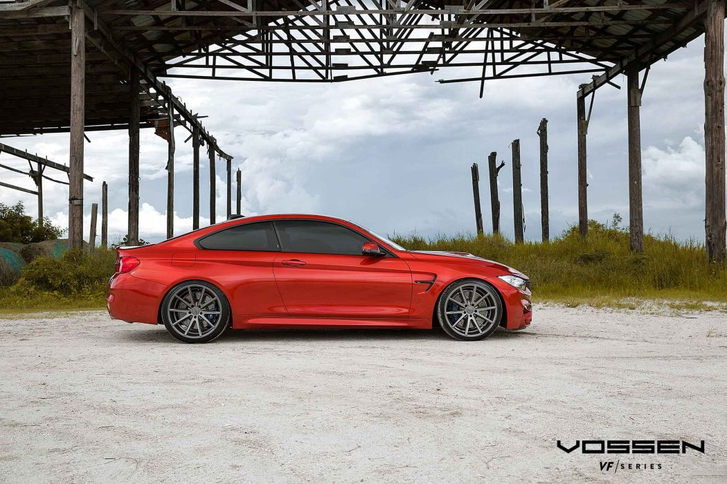 vossen wheels bmw m4 coupe tuning wallpaper