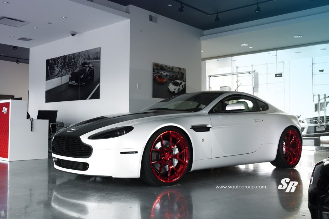 PUR wheels aston martin vantage coupe tuning blue white wallpaper