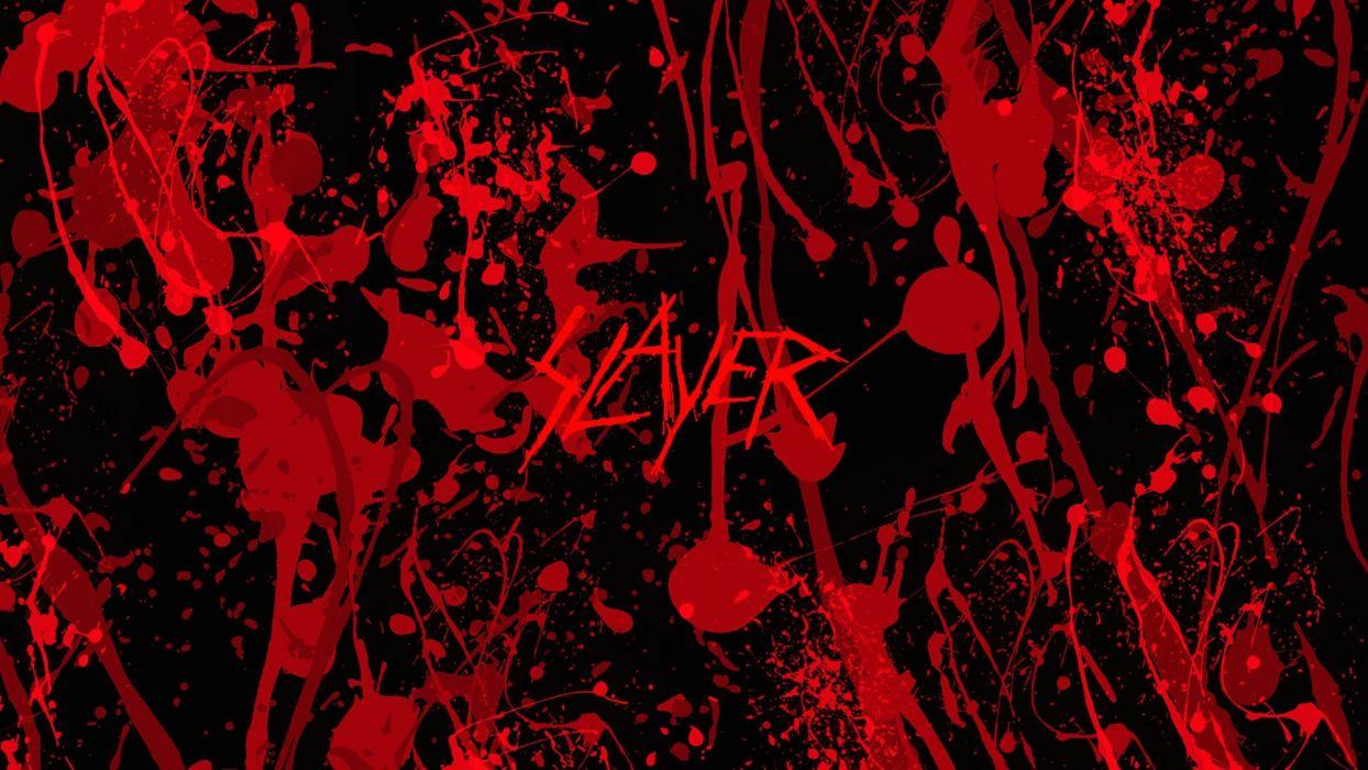 SLAYER death metal heavy thrash wallpaper