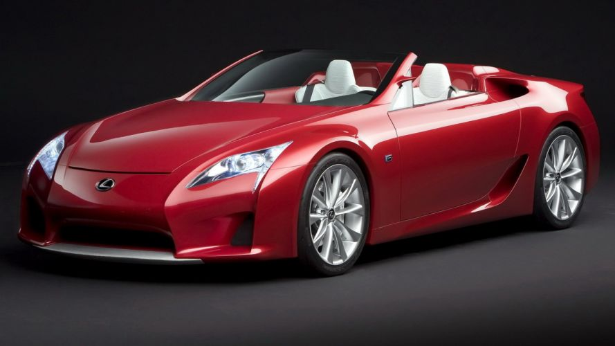 Lexus LFA Roadster Concept wallpaper