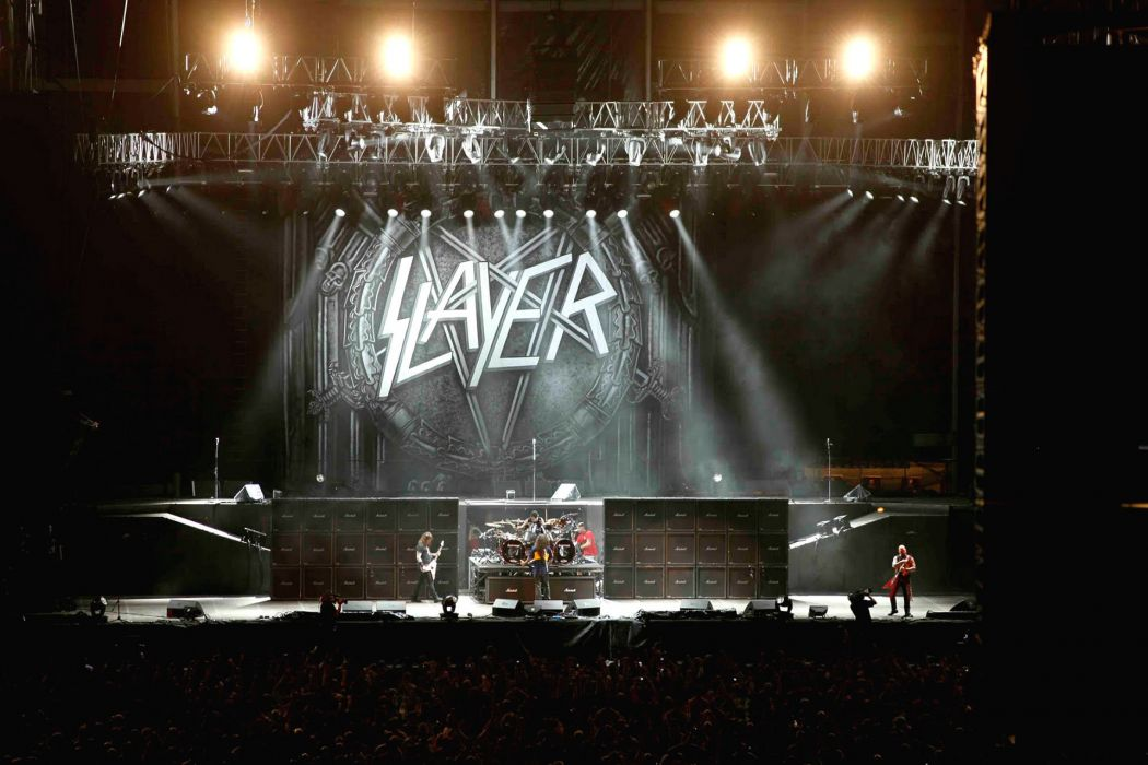 SLAYER death metal heavy thrash concert wallpaper