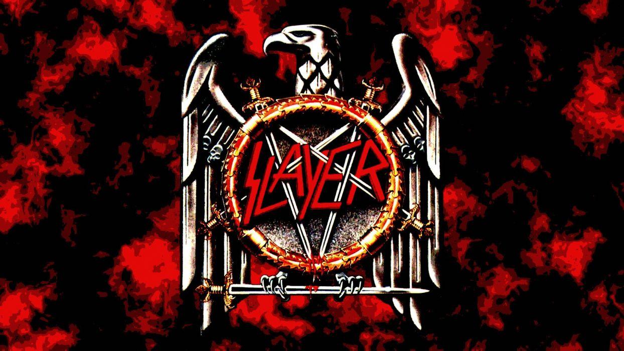 SLAYER death metal heavy thrash dark wallpaper