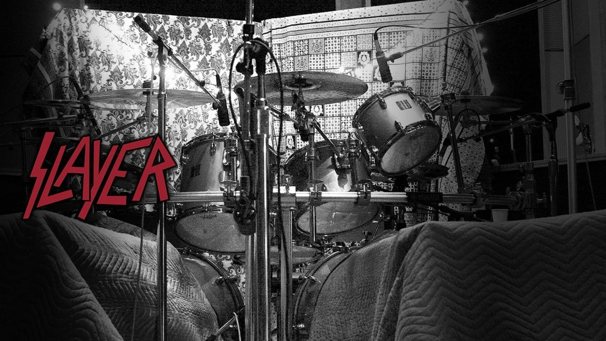 SLAYER death metal heavy thrash drums wallpaper