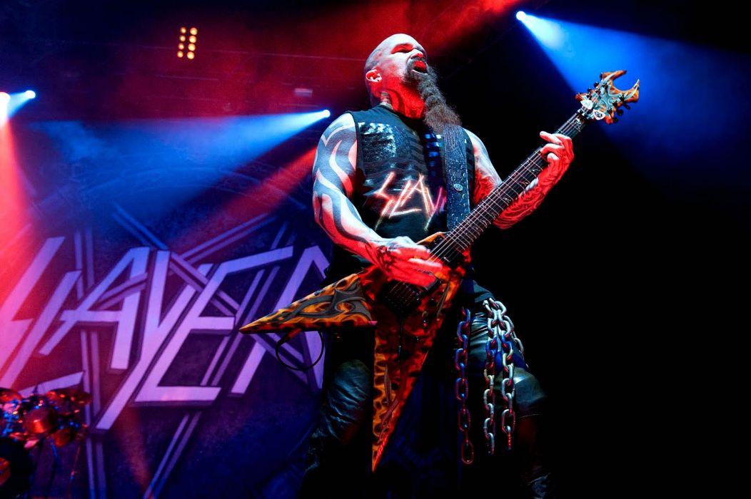 SLAYER death metal heavy thrash concert guitar wallpaper