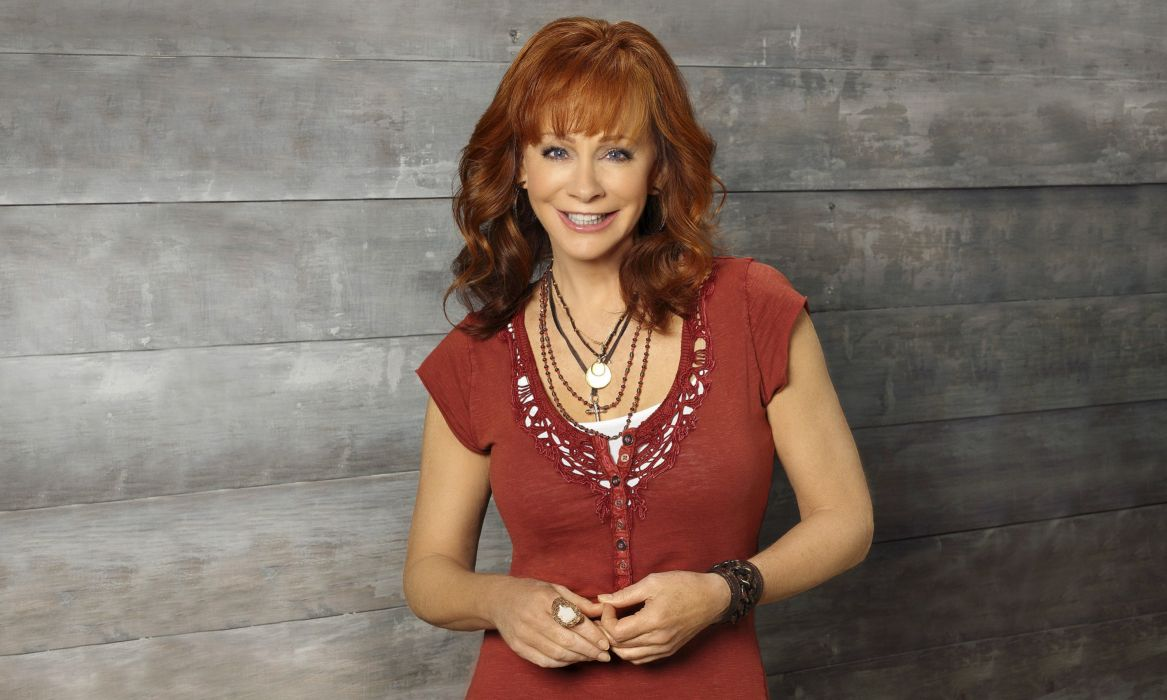 REBA McENTIRE country countrywestern actress redhead wallpaper