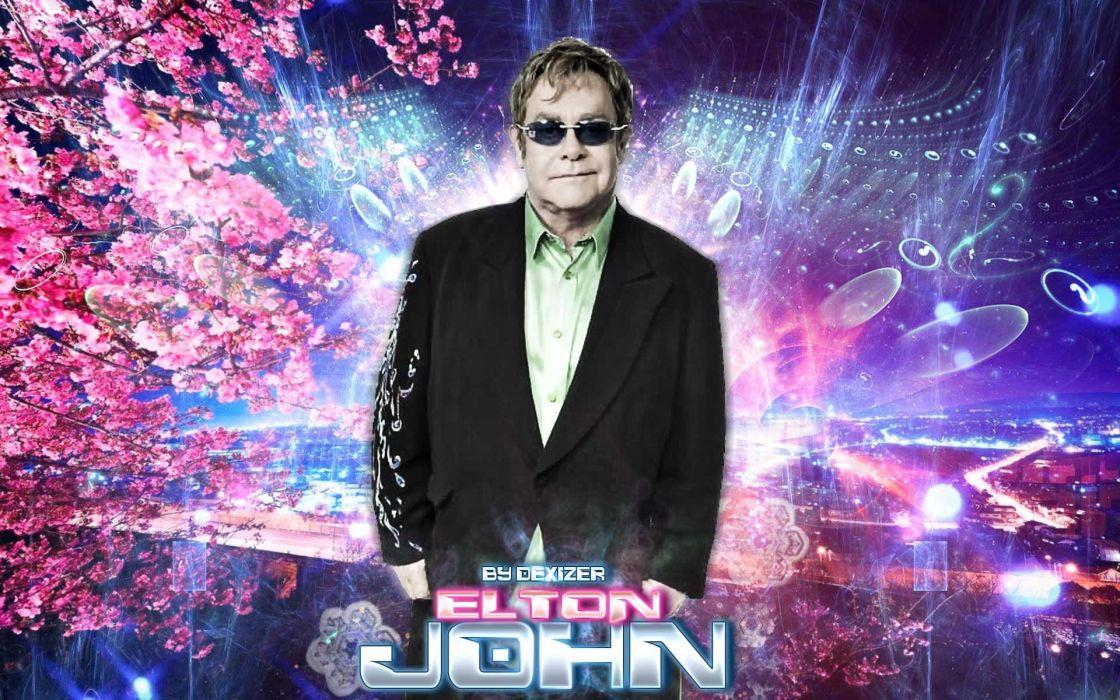 ELTON JOHN rock pop gl...