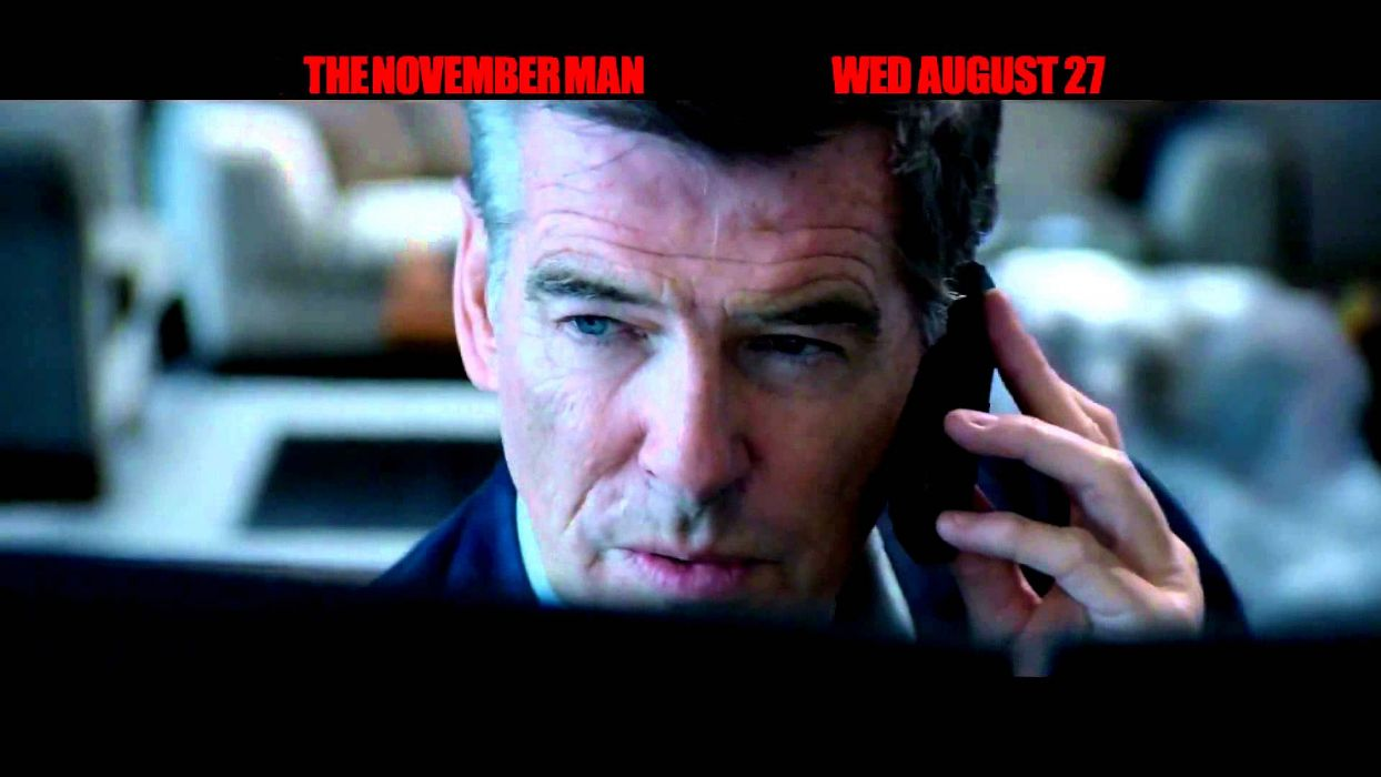 NOVEMBER MAN action crime thriller spy wallpaper
