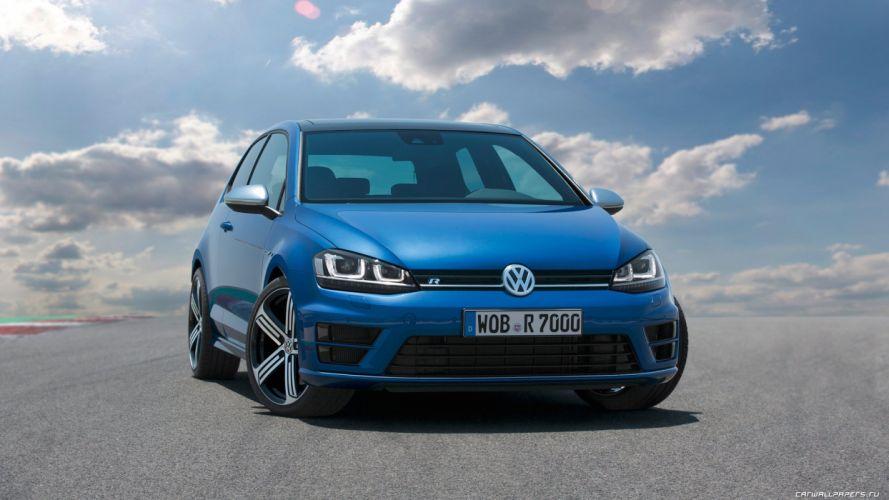 Volkswagen Golf R 2013 1920x1080 wallpaper