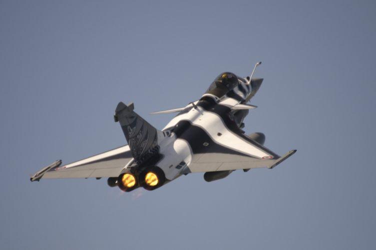 airplane Fighter jet Military plane rafale wallpaper