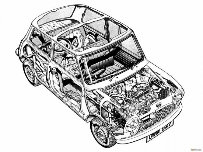 Austin Mini 1959-1969 wallpaper