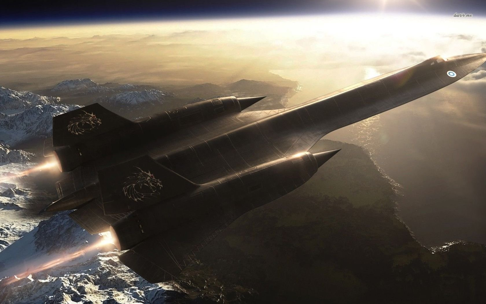 Aerospike aircraft blackbird military nasa planes sr 71 - Sr 71 wallpaper ...