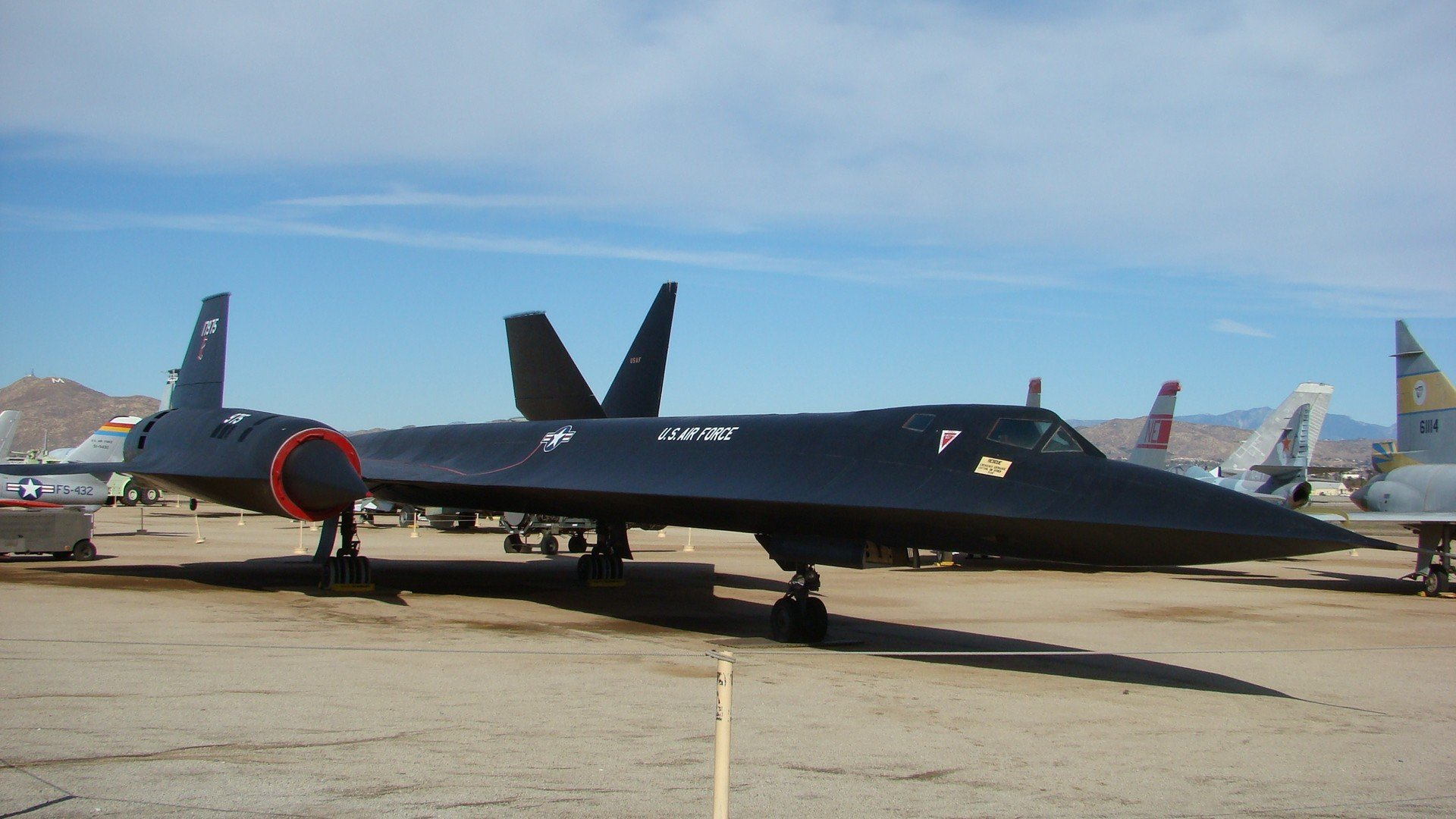 Aerospike aircraft blackbird Military NASA planes sr 71 wallpaper ...
