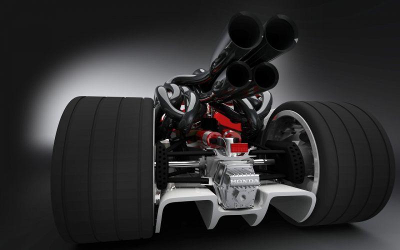 Honda Racer 2008 wallpaper