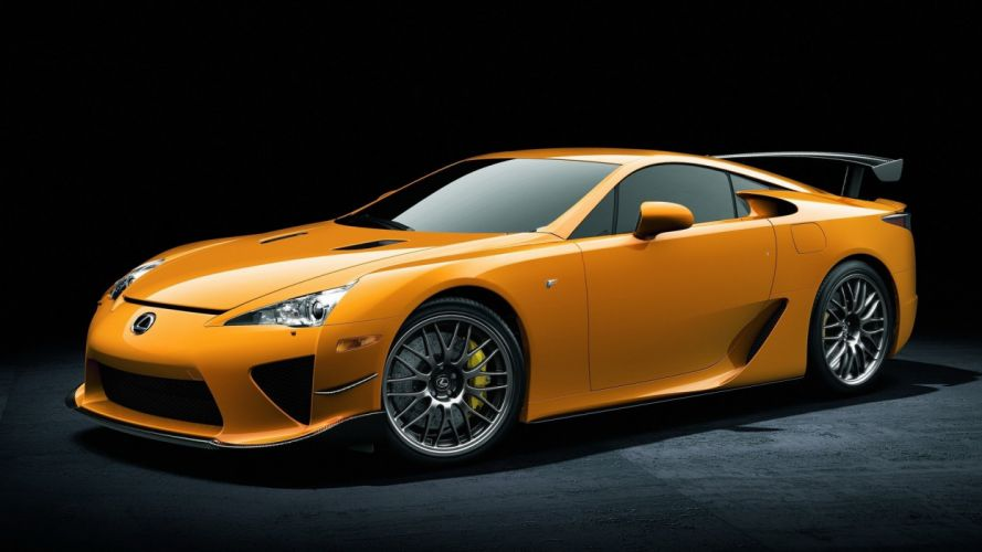 Lexus LFA NA wallpaper