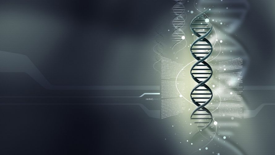 DNA 3-d structure molecule pattern abstraction genetic psychedelic wallpaper