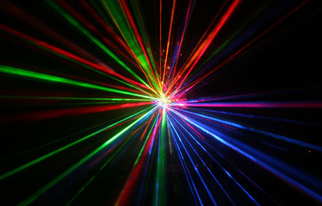 Laser Show Concert Lights Color Abstraction Psychedelic