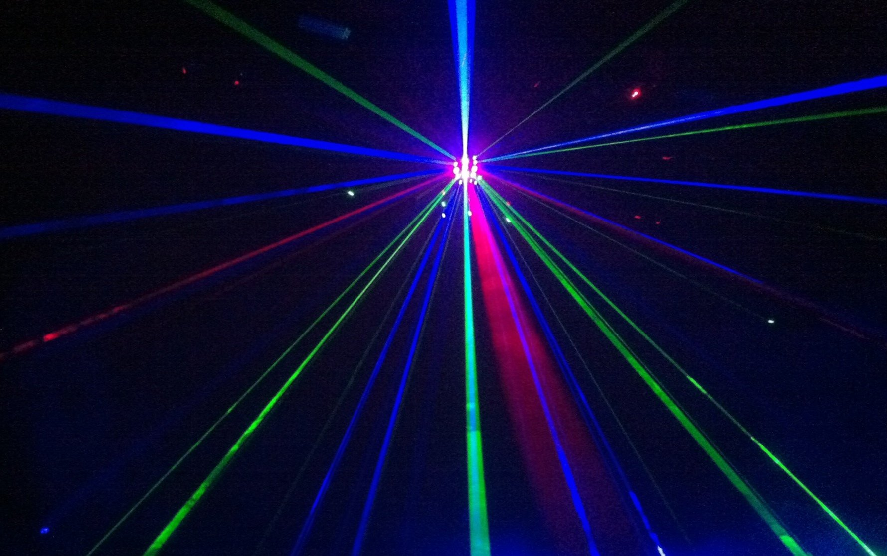 how to create a laser light show